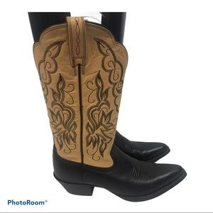 Ariat  Heritage  Leather Cowboy Boots Style #15781